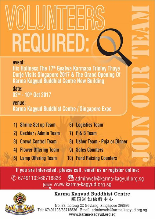 Karma kagyud buddhist centre join our volunteers team thecheapjerseys Gallery